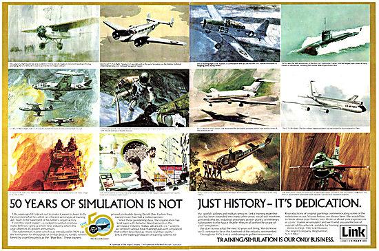 Singer Link Flight Simulators 1979