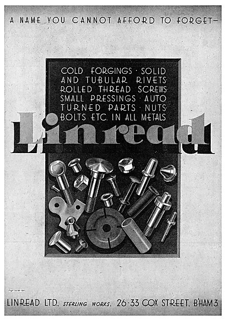 Linread Cold Forgings Rivets & Threads