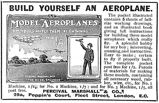 Build Yourself An Aeroplane By E.W.Twining 1/- Net