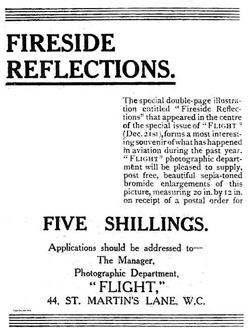 Flight Publication: Fireside Reflections 5/-