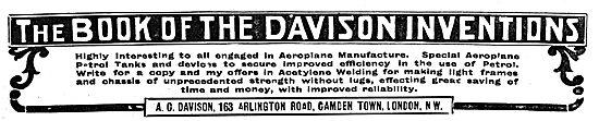 The Book Of Davison Inventions By A.C.Davison