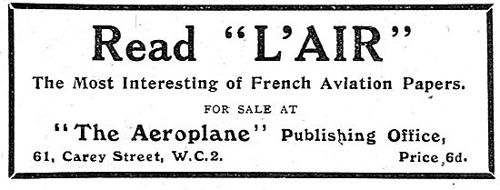 L'Air French Aviation Papers