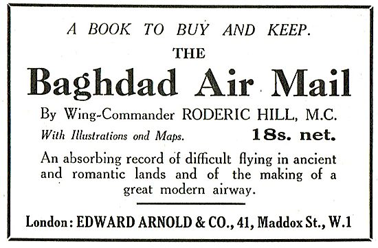 The Baghdad Air Mail - Published By Edward Arnold & Co