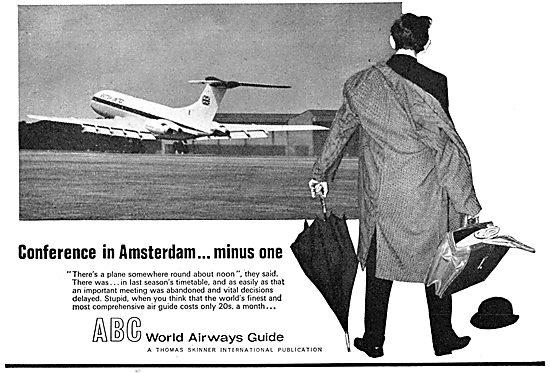 ABC World Airways Guide 1965 - Thomas Skinner Publications