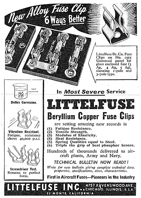 Littlefuse Aircraft Fuses