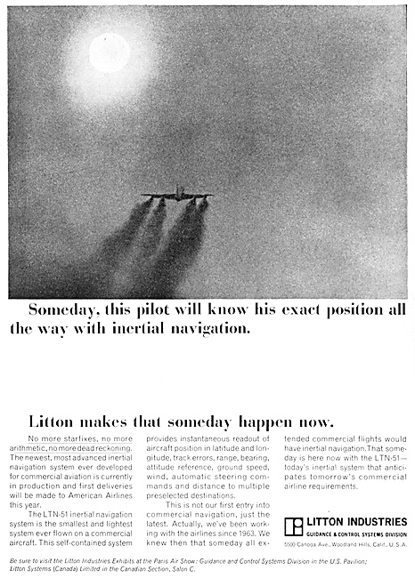 Litton Inertial Navigation - Litton INS