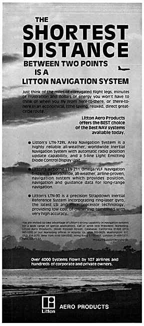 Litton LTN-72RL Area Navigation System