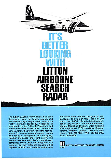 Litton LASR-2 Radar