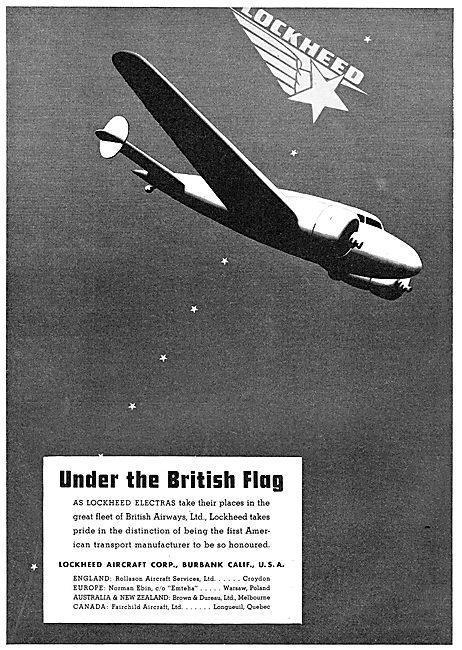 Lockeehd Electra : British Airways