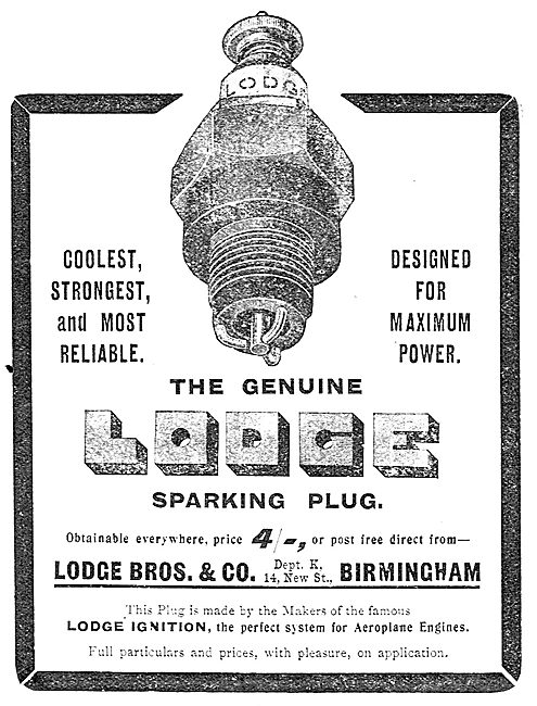 Lodge Sparking Plugs