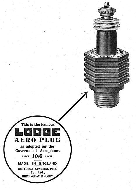 Lodge Aero Spark Plugs  10/6 Each