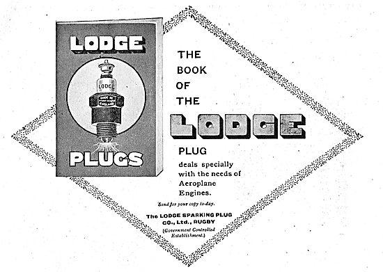 The Book Of The Lodge Aeroplane Sparking Plug