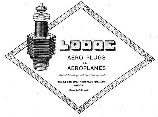 Lodge Aero Plugs For Aeroplanes