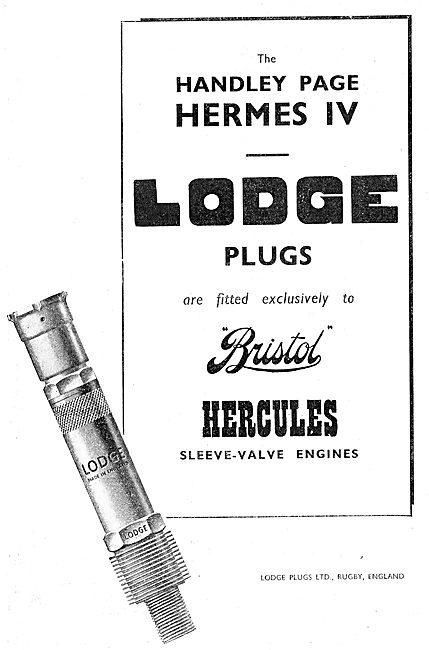 Lodge Aero-Engine Sparking Plugs