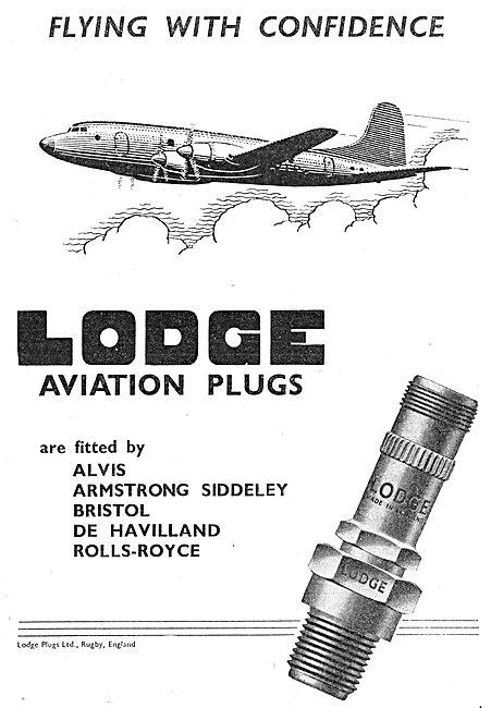 Lodge Aero Engine Sparking Plugs & Igniters