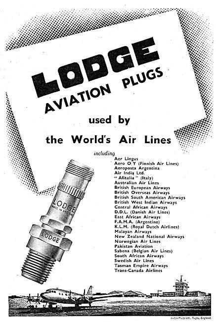 Lodge Aviation Sparking Plugs & Igniters