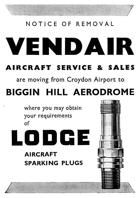 Lodge Sparking Plugs & Igniters. Vendair