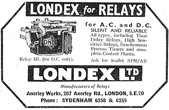 Londex Electrical Relays