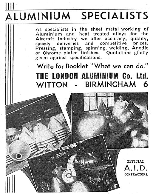 The London Aluminium Co Ltd