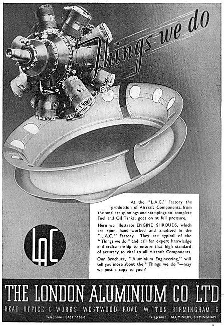 The London Aluminium Co : Aircraft Engineering