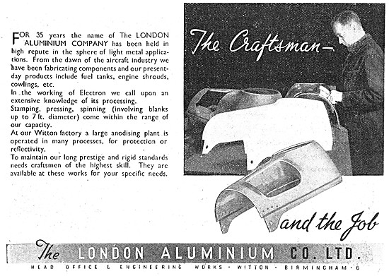 London Aluminium Aircraft Components