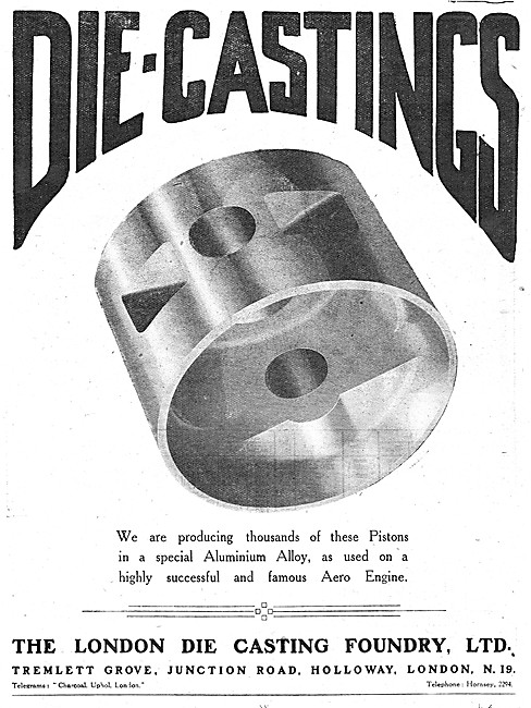 The London Die Casting Foundry - Die Cast Pistons