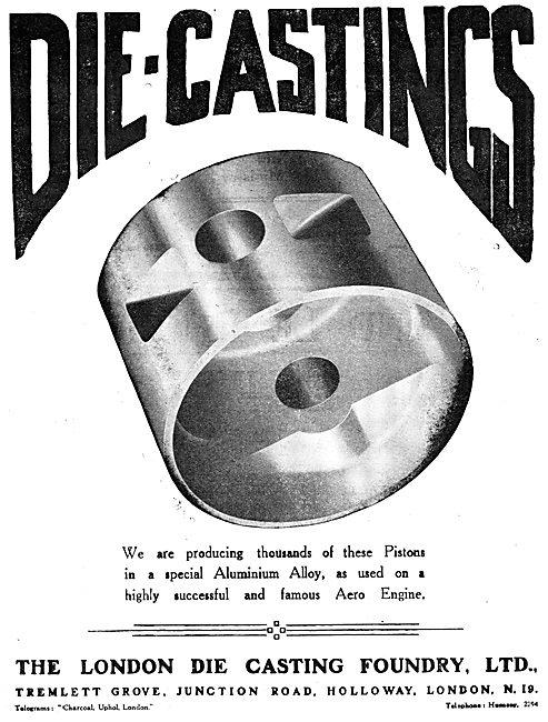 The London Die Casting Foundry - Aluminium Aero Pistons