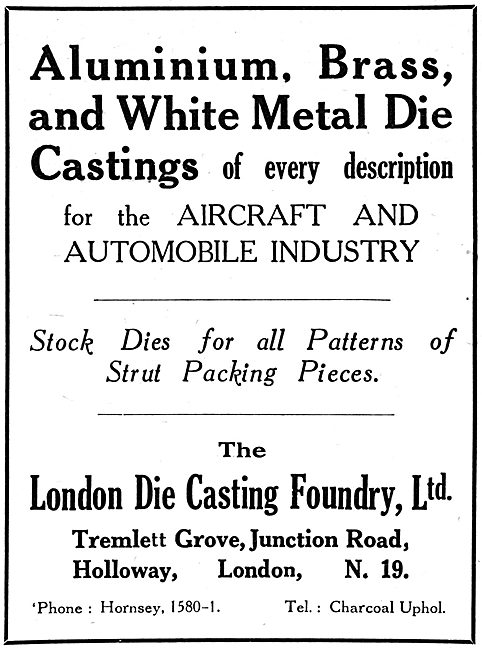 The London Die Casting Foundry