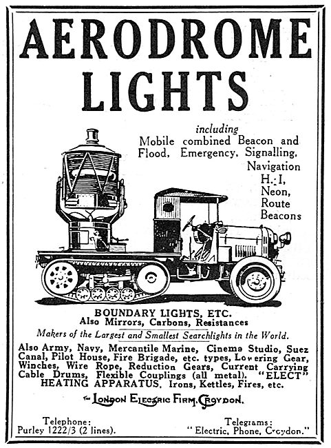 The London Electric Firm - Aerodrome Lights Of All Types