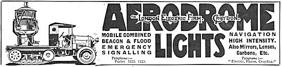 The London Electric Firm - Aerodrome Beacon & Flood Lights
