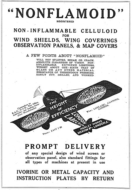London Label Non-Inflammable Wing Coverings & Panels