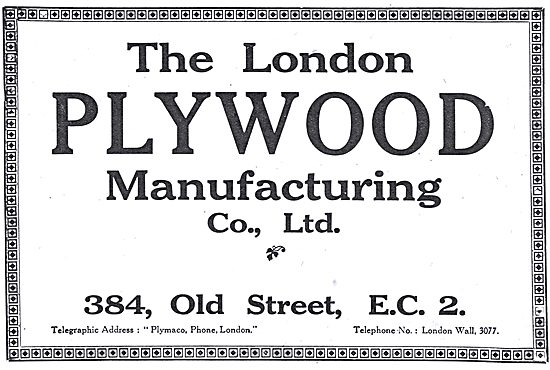London Plywood & Timber Co. Wood Components. 384 Old St, EC2.