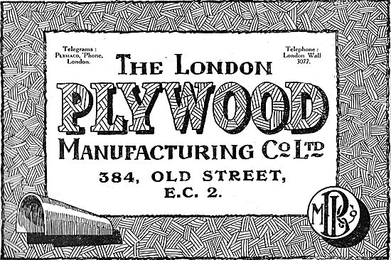 London Plywood & Timber Co. - Wooden Aircraft Components