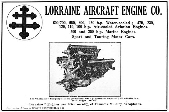 Lorraine Aero Engines 1929