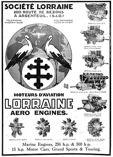 Lorraine Aero Engines 1930