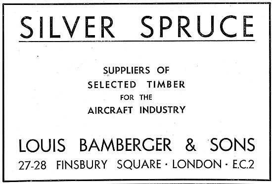 Louis Bamberger - Aircraft Quality Silver Spruce
