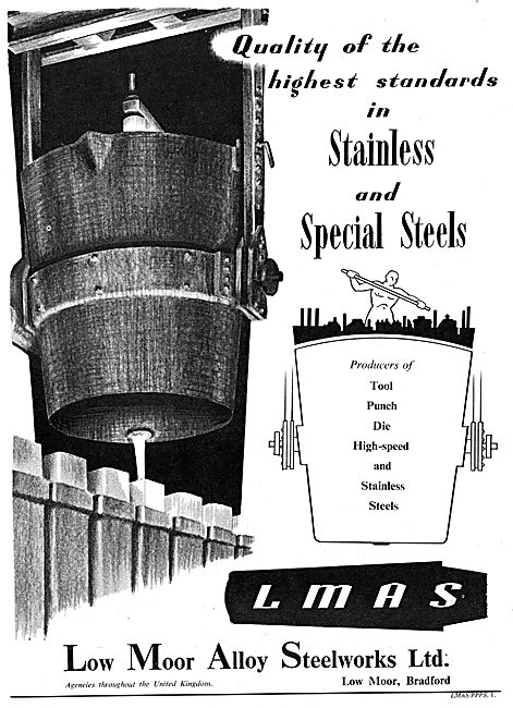Low Moor Alloy Steelworks - Stainless Steels