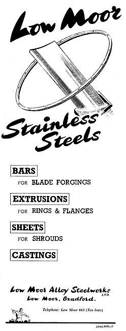 Low Moor Alloy Steelworks - LMAS Stainless Steels