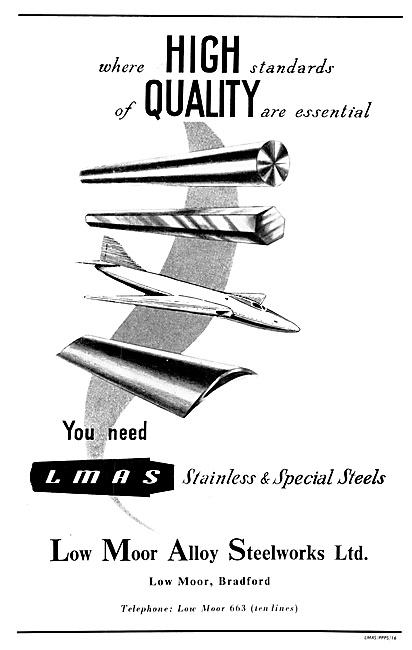 Low Moor Alloy Steelworks - Stainless Steels 1954