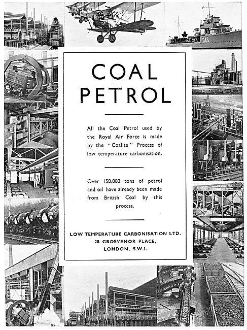 Low Temperature Carbonisation Ltd: Coailte Petrol From Coal