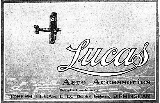 Lucas Aero Accessories