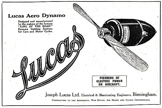 Lucas Aero Dynamo