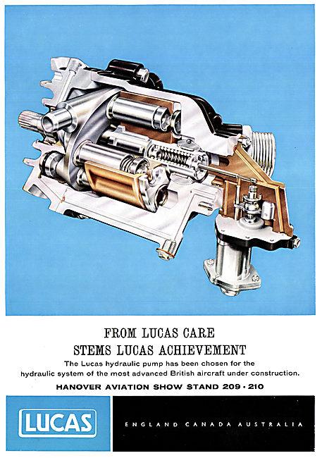 Lucas Hydraulic Pump