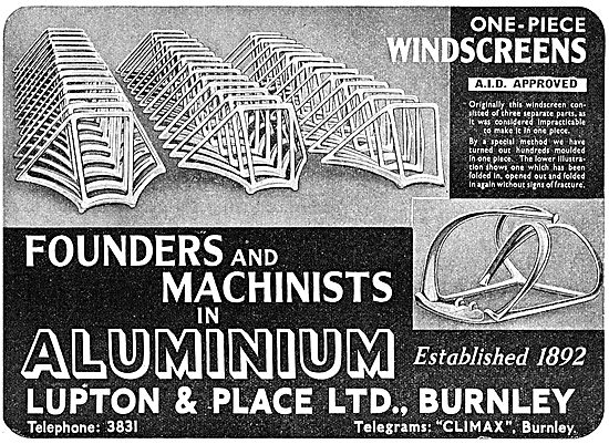 Lupton & Place - Founders & Machinists