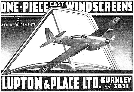 Lupton & Place - One-Piece Cast Windscreens