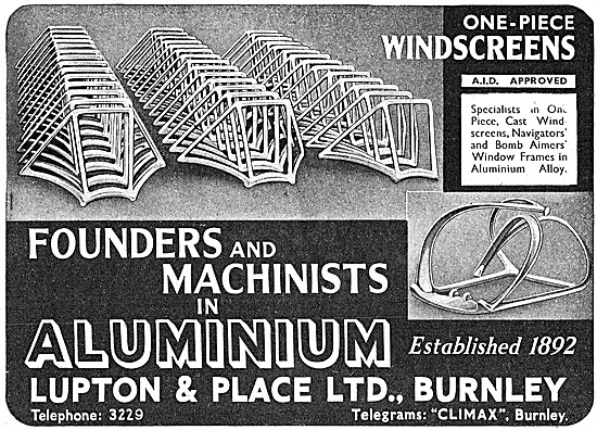 Lupton & Place Aluminium Founders & Machinists