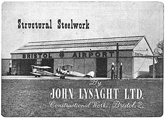 Lysaght Constructional Steelwork For Airfields