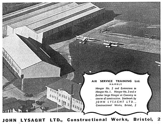 Lysaght Constructional Steelwork  - AST Hamble