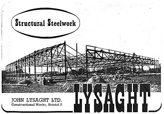 Lysaght Constructional Steelwork Aircraft Factories 1942