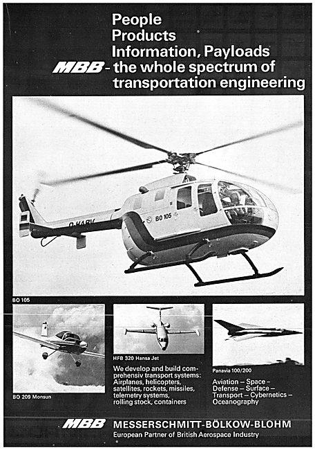 MBB Aircraft 1970 - BO105